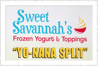 Sweet Savannah's - The Home of YoNana Split